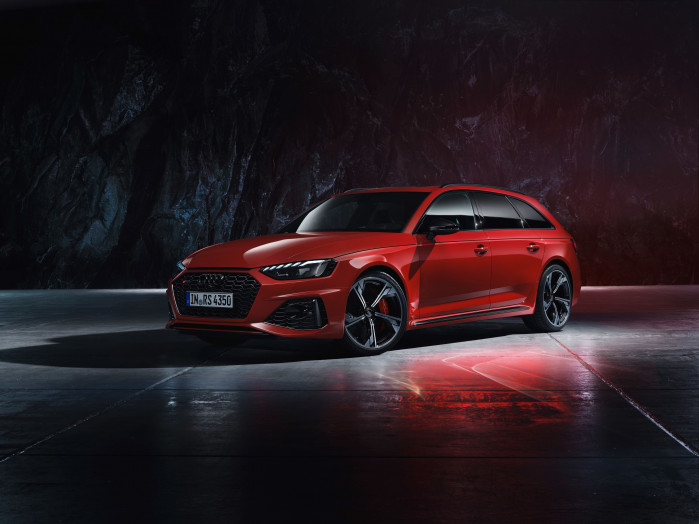 More Advantages for the flagship Avant - The updated Audi RS 4
