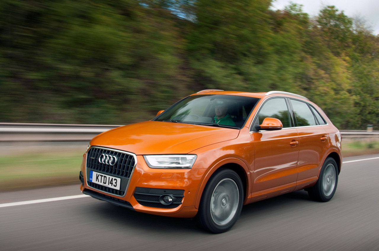 Audi's Q3 tops list of fastest-selling used cars for October