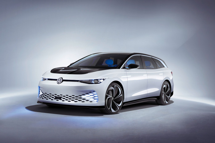 Volkswagen ID. Space Vizzion concept hints at the electric future of the estate car