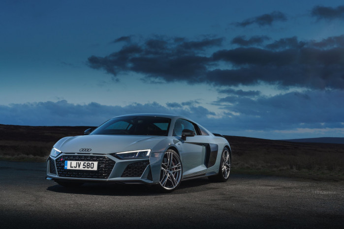 UK Drive: Updated Audi R8 V10 Performance amplifies style and power