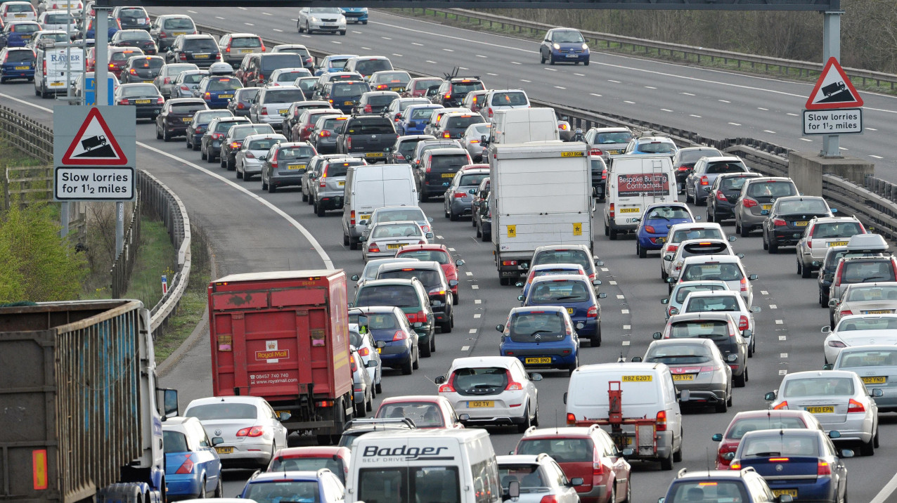 Research finds road commuters 'wasted average of 115 hours stuck in traffic in 2019'