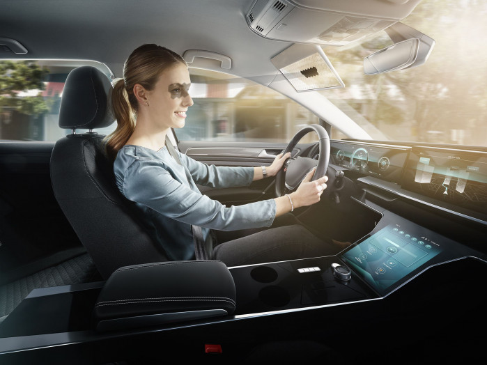 Bosch unveils digital sun visor aimed at improving driving visibility