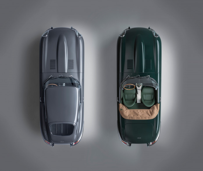 Jaguar Classic Reveals E-Type 60 Collection:  60th Anniversary Tribute To The Iconic Sports Car