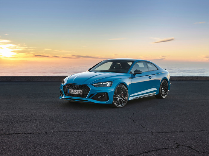 The updated Audi RS5 and RS5 Sportback