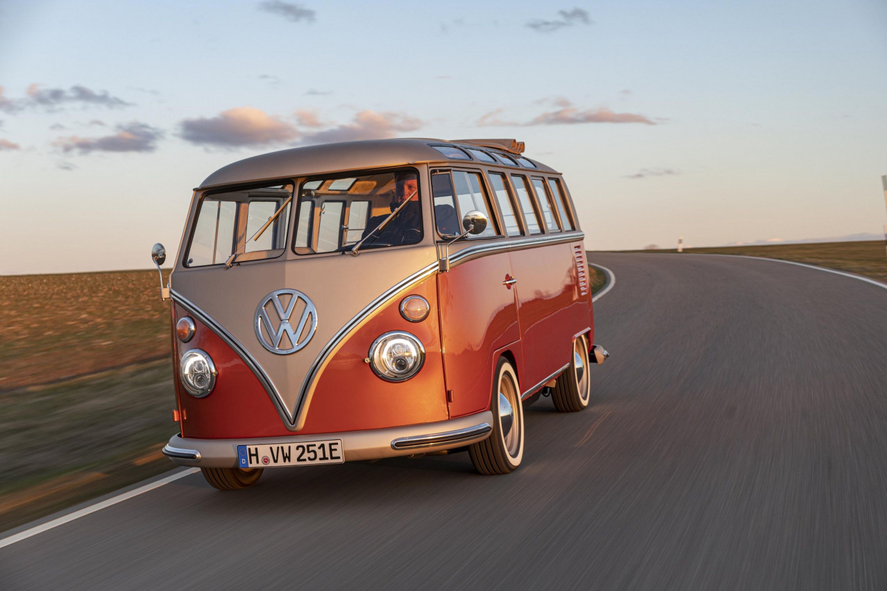 Volkswagen now offering electric conversion for classic campers