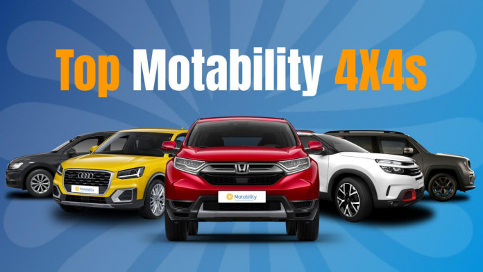 Top 4x4s on the Motability Scheme