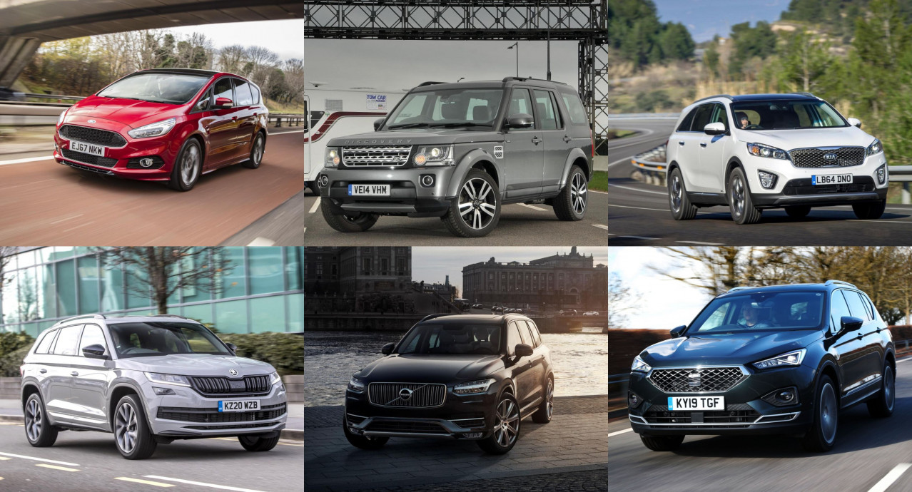 Seven of the best seven-seaters for under £25,000