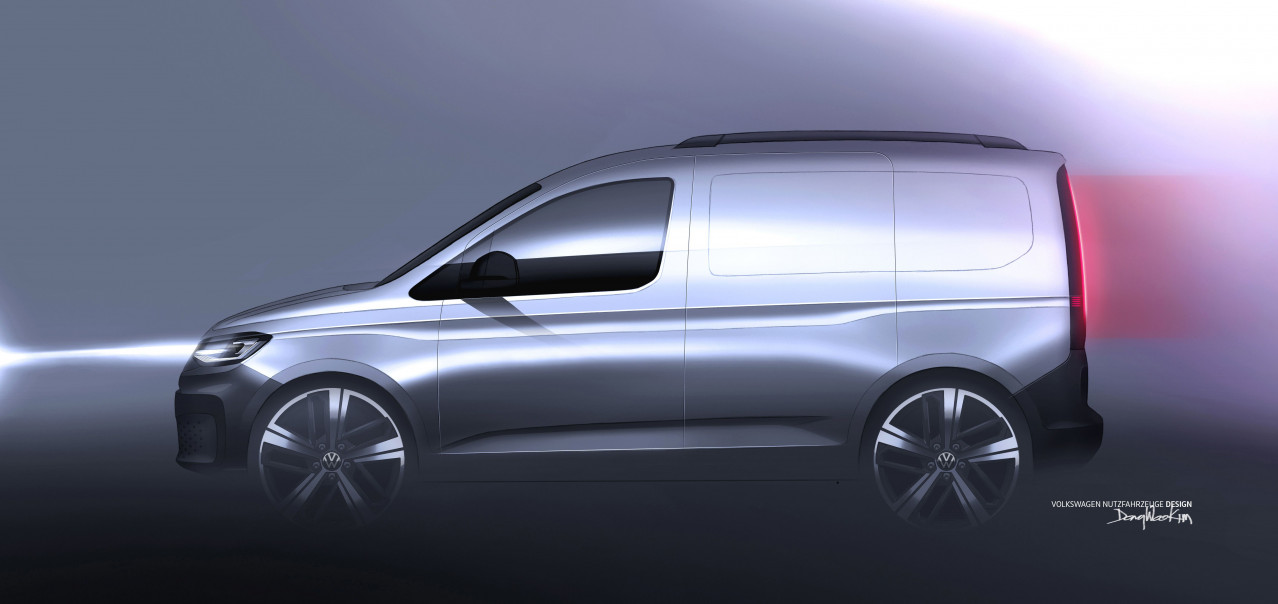 The new Caddy from Volkswagen Commercial Vehicles: A look ahead to the world premiere in February