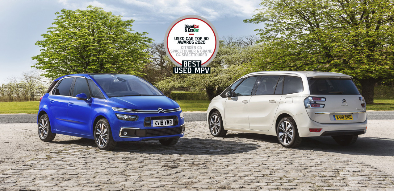 """Citroën scoops  """"best used MPV"""" title in diesel car and eco magazine used car top 50"""