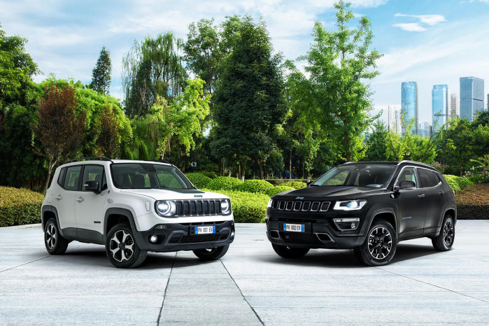 Jeep launches Renegade and Compass 4xe First Edition PHEVS