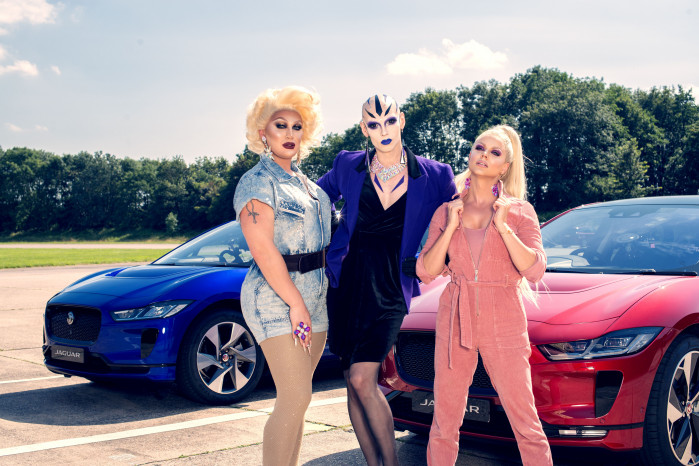 "The world's most famous Drag Queens go head to head as they ""Jag Race"" for  LGBTQ+ Charities"