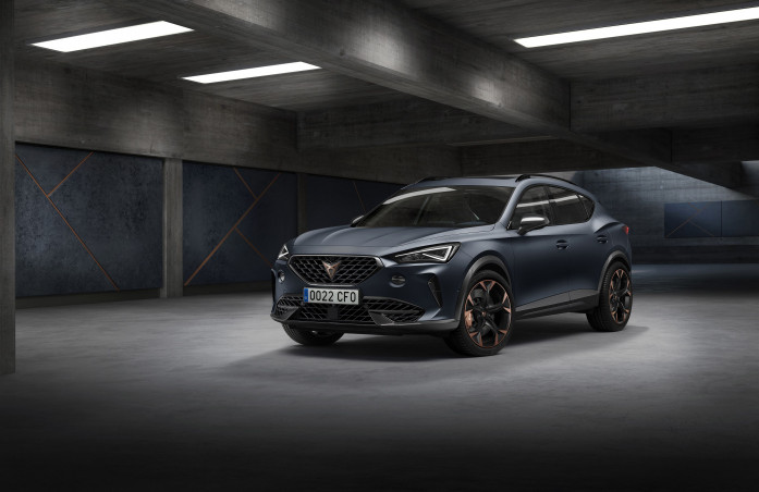 CUPRA Formentor: The first model exclusively developed for CUPRA brand