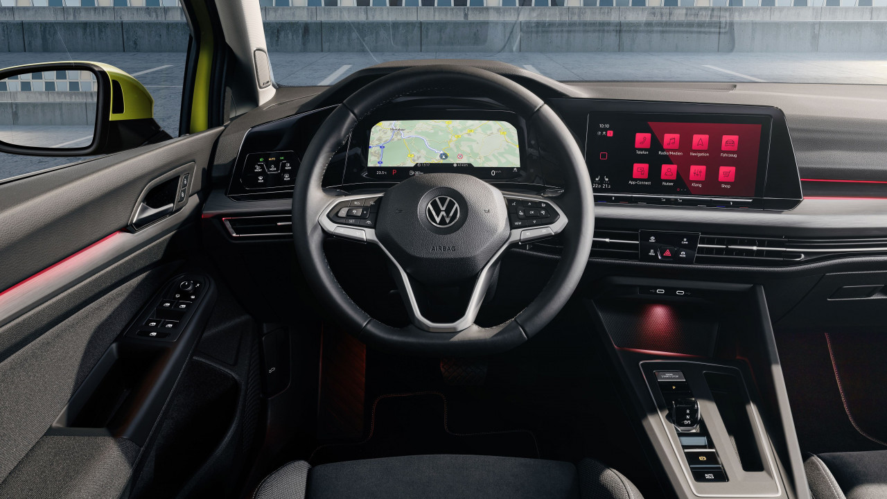 Highlight of the new Golf – The digital cockpit