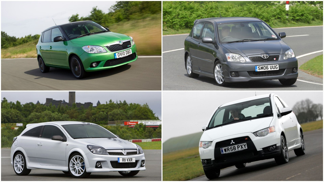 The forgotten hot hatches you can get for under £10,000