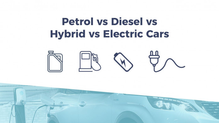 Petrol vs Diesel vs Hybrid vs Electric Cars