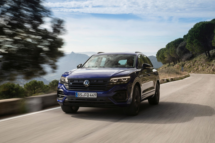 Volkswagen reveals electric-assisted Touareg R