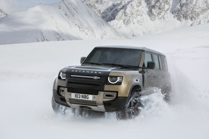 Five key features on the new Land Rover Defender