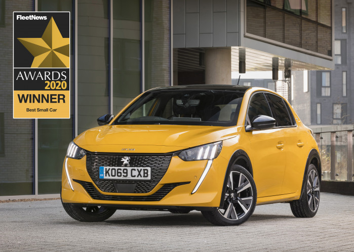 All-New Peugeot 208 and 2008 SUV win at Fleet New Awards 2020
