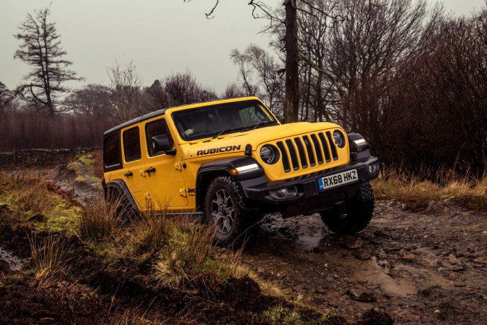 "Off-Road prowess of Jeep Wrangler honoured at ""4x4 of the year"" awards"