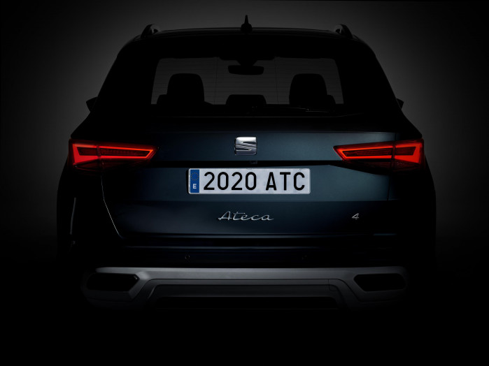 New SEAT Ateca teased ahead of launch