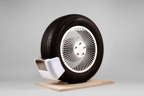 Tyre emission-reducing device wins James Dyson award