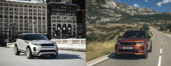 Land Rover Discovery Sport and Range Rover Evoque gain electrified engines