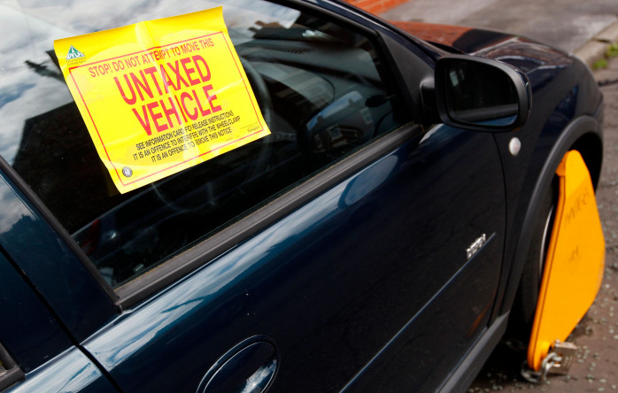 Is your region a car tax dodging hot spot being targeted by the DVLA?