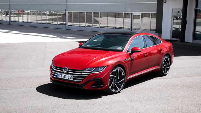 Updated Volkswagen Arteon priced from £35,435