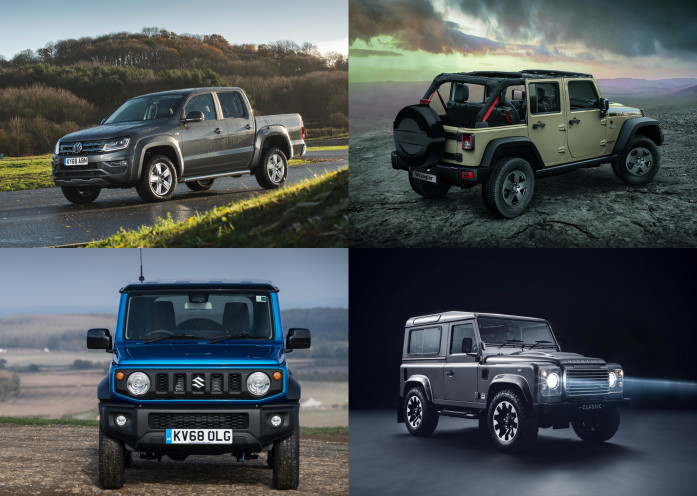 The best used off-roaders for the same price as a new Land Rover Defender