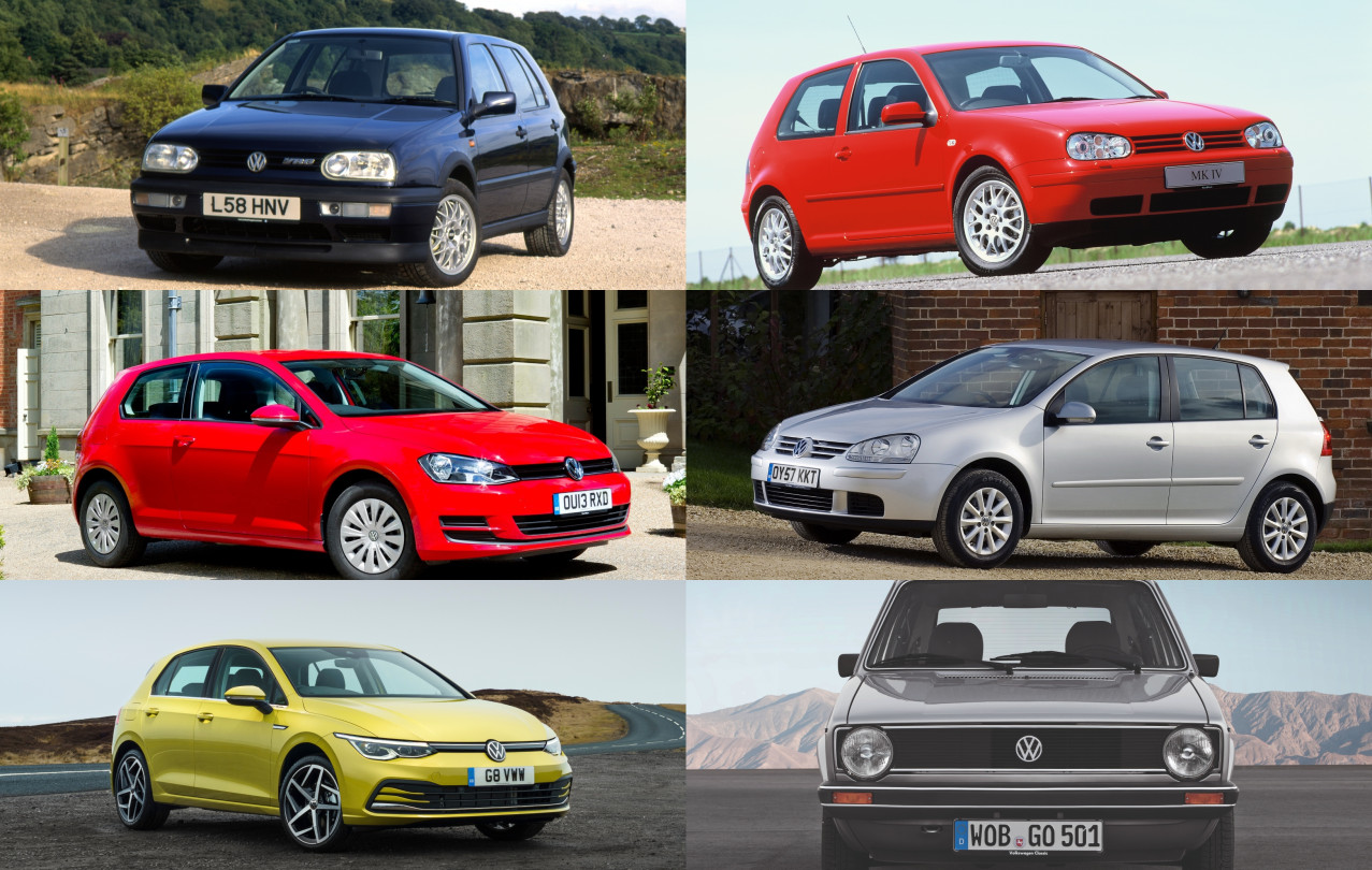 The history of the Volkswagen Golf