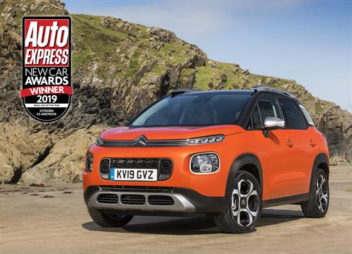Double win for double chevrons: Citroën honoured at Auto Express New Car Awards 2019