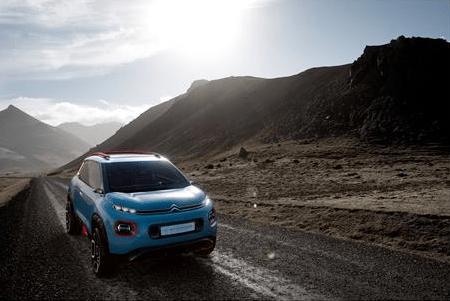 C-Aircross Concept: The Compact SUV By Citroen