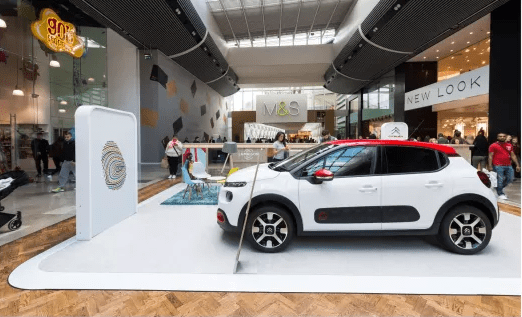 New Citroën C3 Makes UK Premiere On Westfield Stratford City Pop-Up Stand