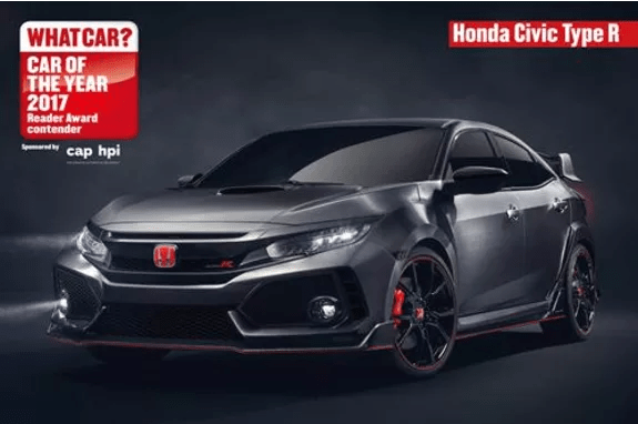 2017 British-Built Civic Type R Shortlisted For What Car? Reader Award