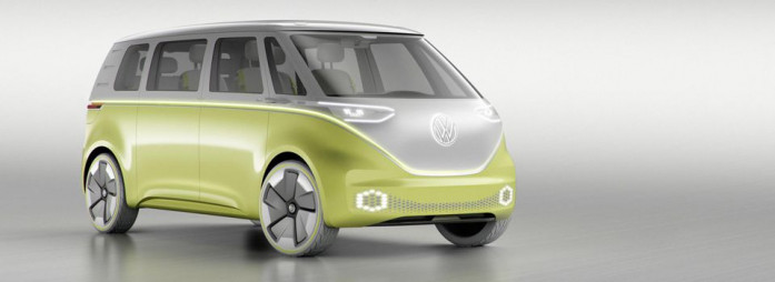 NAIAS 2017 in Detroit: Volkswagen presents the I.D Buzz