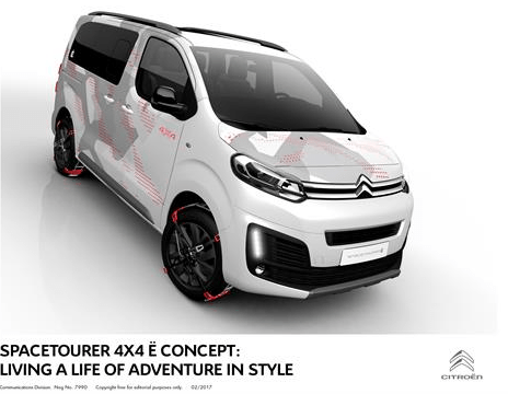 Citroën Spacetourer 4x4 Ë Concept: Living A Life Of Adventure In Style