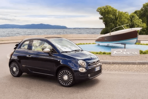 Fiat 500 Riva - A Collaboration Between Two Italian Icons