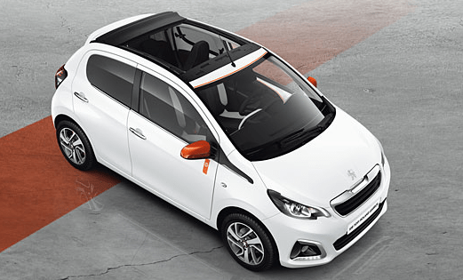 Peugeot Serves up New 108 Top! And 208 Roland Garros Special Edition Plus A Sport New 108 GT Line Model