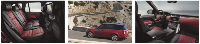 New For 2017 Range Rover: Range Rover SVAutobiography Dynamic And Semi-Autonomous Technologies