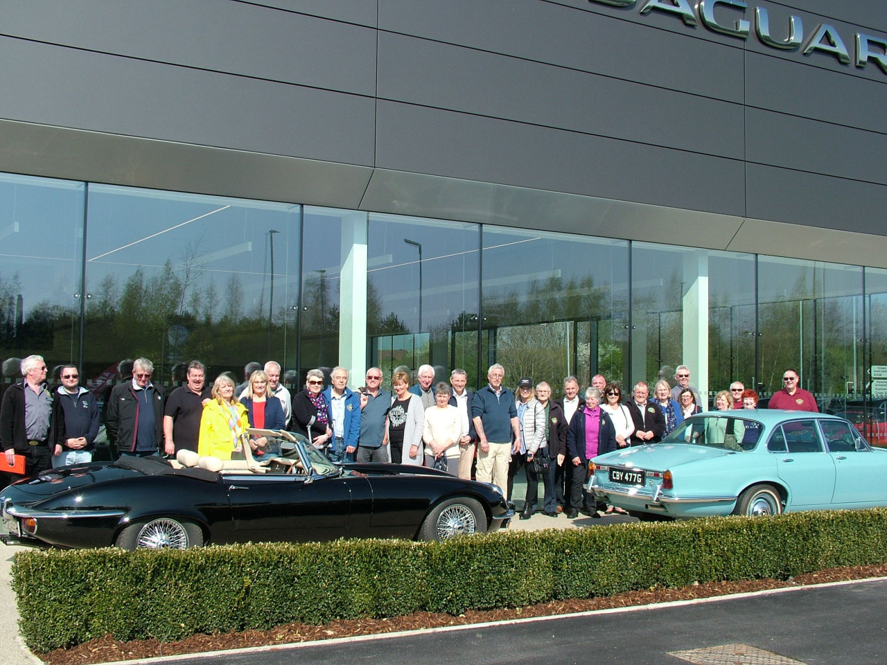 Jaguar Enthusiasts Visit New Centre