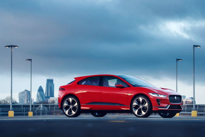 The New Jaguar I-PACE Hits UK Streets For Testing