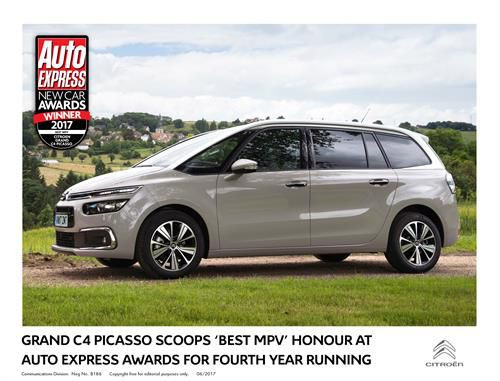 Citroën Celebrates Impressive Double Win at Auto Express New Car Awards 2017