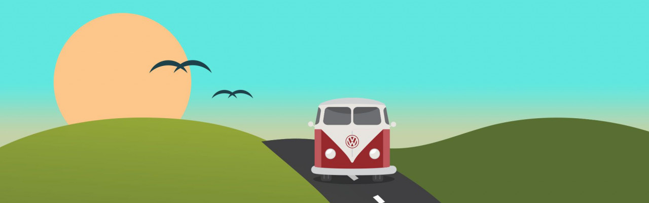Volkswagen Camper Van Road Trip In A VW Van From Swansway