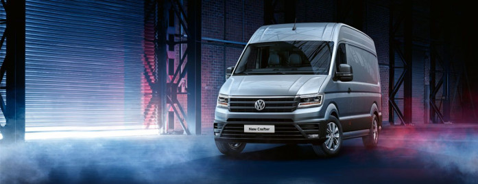 Volkswagen Crafter named Auto Express's 'Van of the Year'
