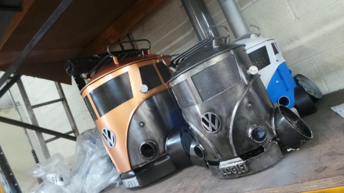 Creation Fabrication VW Camper Van BBQ