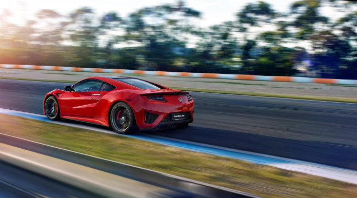 Honda announces next delivery of NSX to UK