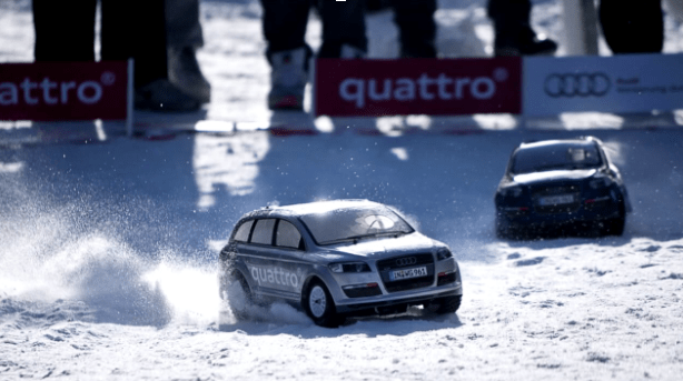 Why choose a car with Audi quattro for Winter driving?