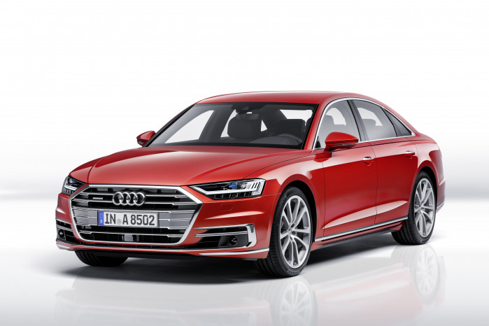 The All-New Audi A8 Is Unveiled