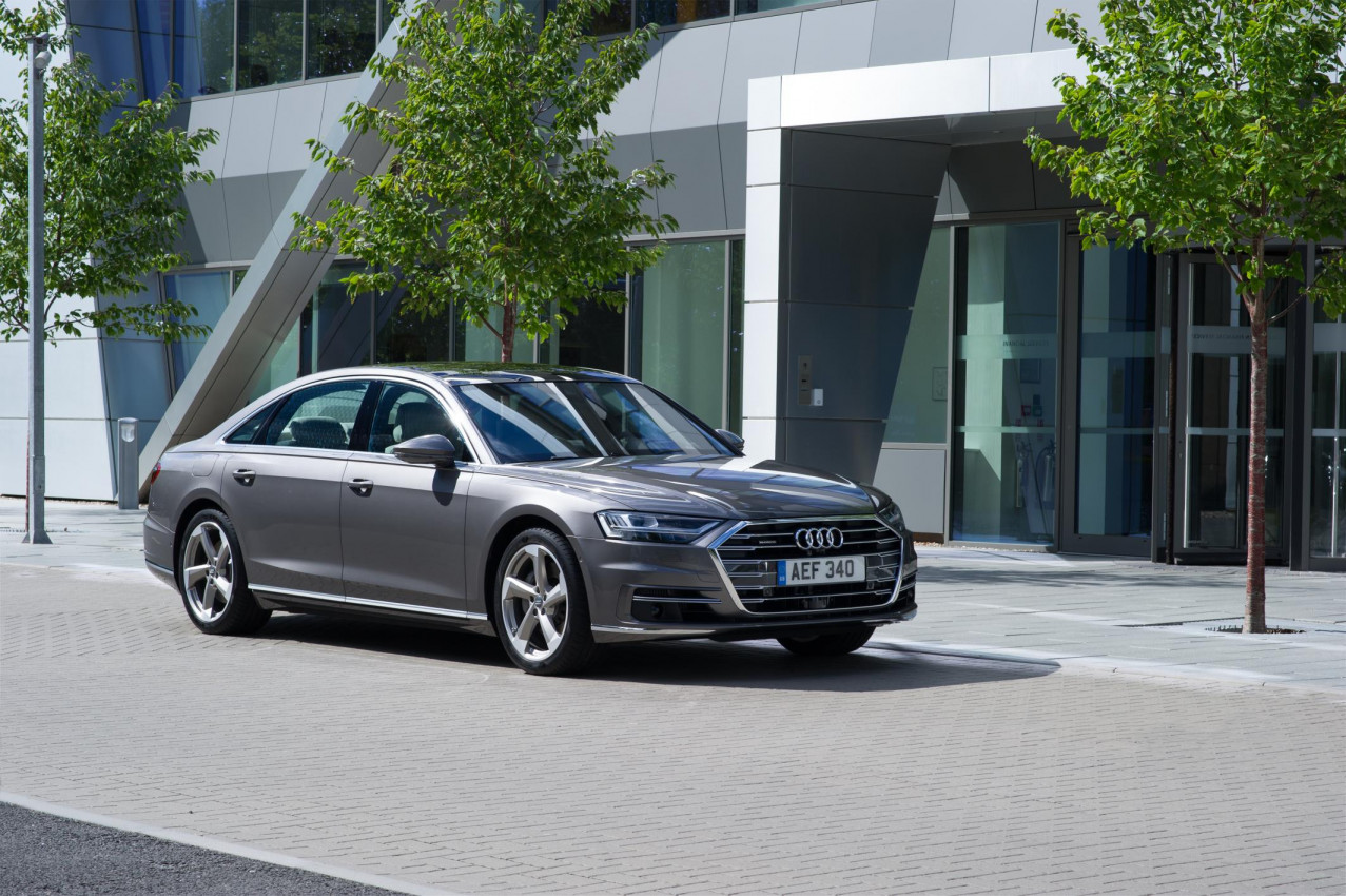 The future is now - New Audi A8 ready for UK debut