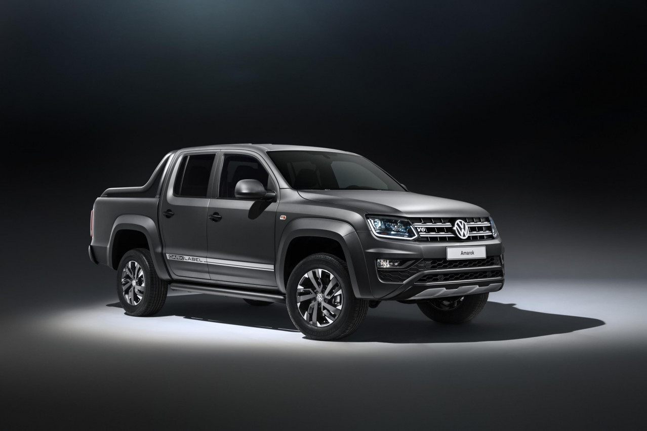 Volkswagen Commercial Vehicles tempts Amarok buyers over to the dark side with new Special Edition Dark Label